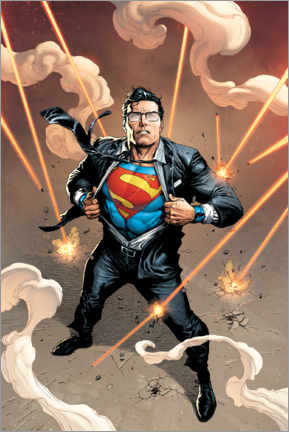 Premium poster  Clark Kent is Superman