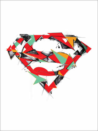 Premium poster  Superman Logo Shield