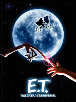 Canvas print  E.T. - The promise