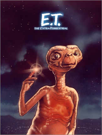 Canvas print  E.T. the Extra-Terrestrial