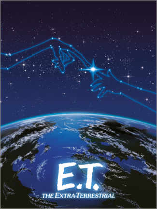 Premium poster  E.T. - Star constellation