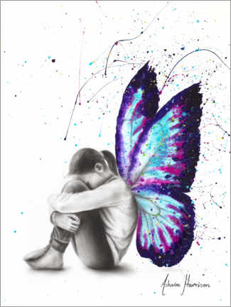 Premium poster Butterfly Dreaming