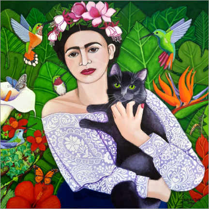 Canvas print  Frida's wings - Madalena Lobao-Tello