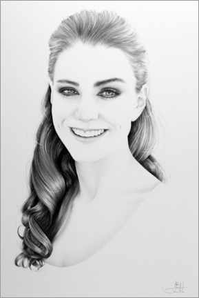 Premium poster Kate Middleton