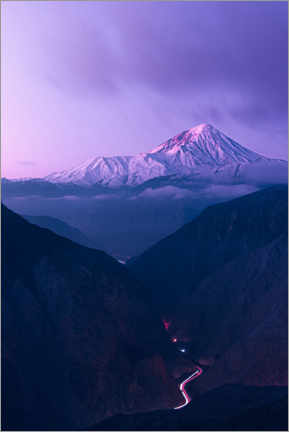 Gallery print  On the way to Mount Damavand - Majid Behzad