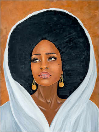 Premium poster African Shea Beauty