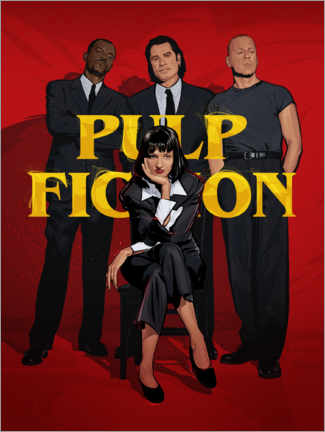 Premium poster Pulp Fiction Gang