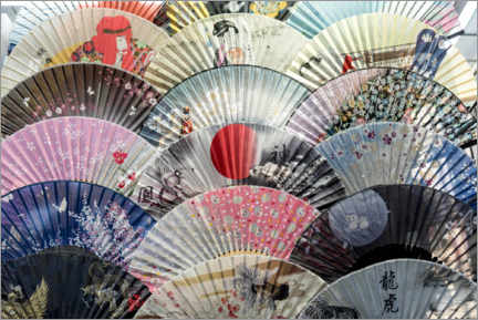 Gallery print  Traditional Japanese fans - Petr Svarc