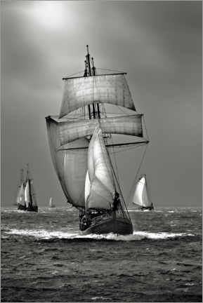 Premium poster Sailing ship, tall ship