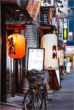 Acrylic print  In the streets of Tokio - Matteo Colombo