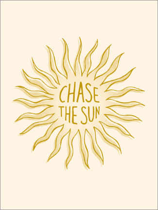 Premium poster Chase the Sun