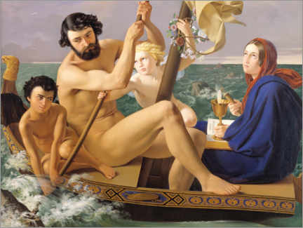 Wall sticker  Masculinity, the four ages of man - Detlev Blunck