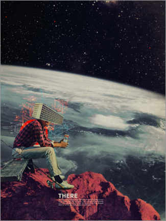 Canvas print  Figuring out ways to escape - Frank Moth