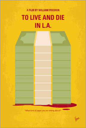 Premium poster  To Live and Die in LA - chungkong