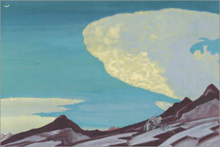 Wall sticker  The Tablets of the Commandments - Nicholas Roerich