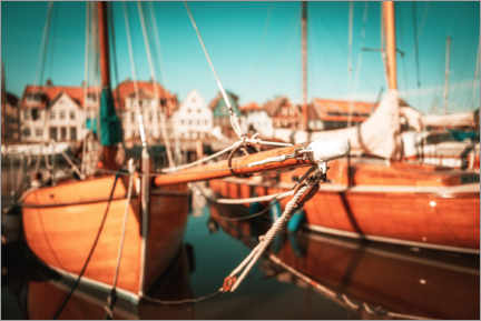 Gallery print  Old sailing boats - Nordbilder