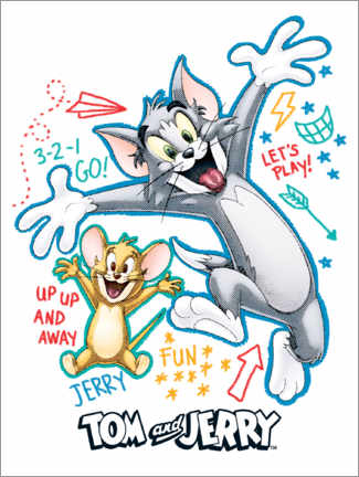 Premium poster  Tom and Jerry Fun Time