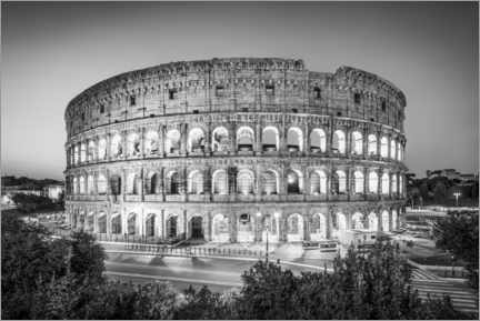 Acrylic print  The Colosseum in Rome, Italy - Jan Christopher Becke
