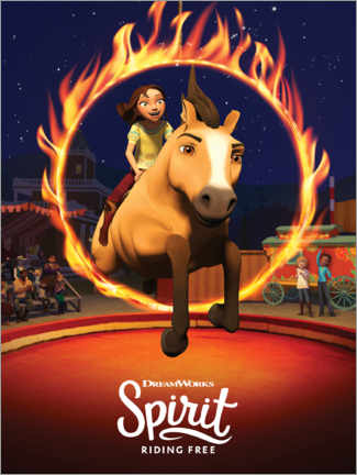 Wall sticker  Spirit Riding Free - Arena