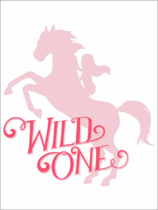 Gallery print  Wild one, silhouette