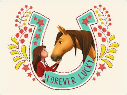 Wall sticker  Forever Lucky