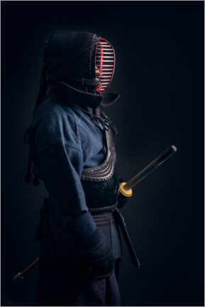 Wall sticker  Kendo fighters in Shinai uniform - Simon West