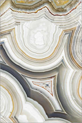 Canvas print  Laguna lace agate - Mark Windom