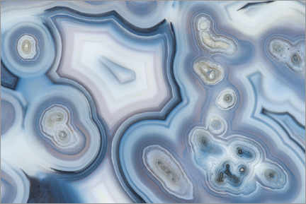 Foam board print  Brazilian agate - Mark Windom