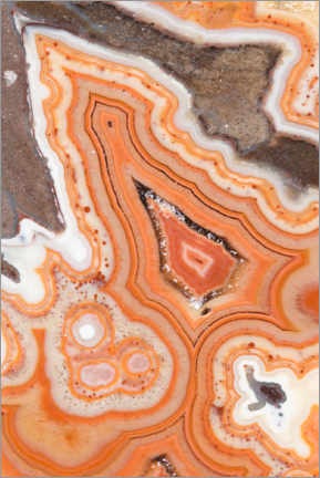 Foam board print  Dryhead agate - Mark Windom
