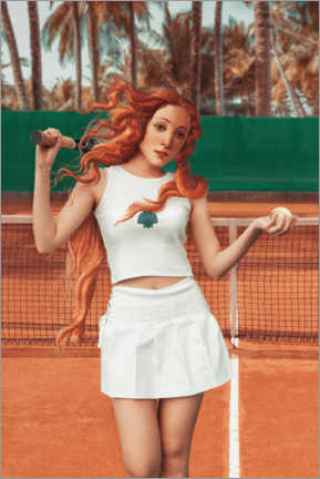 Premium poster  Venus plays tennis - Jonas Loose