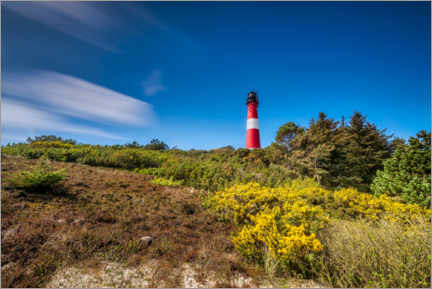 Gallery print  Hörnum lighthouse on the island of Sylt - Mandfred Voss