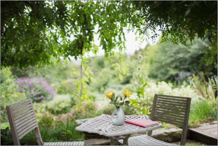 Premium poster  A beautiful place in the garden - Caia Image