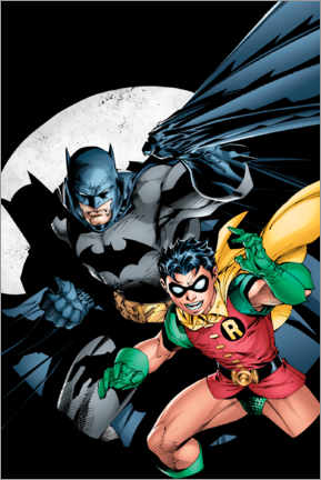Premium poster  Batman and Robin