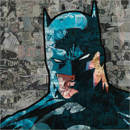 Premium poster  Batman Pop Art Comic