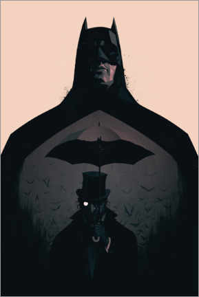 Premium poster  Batman vs Penguin