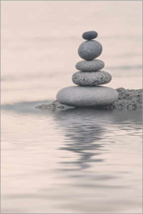 Premium poster  Tranquil Balance - Andrea Haase Foto