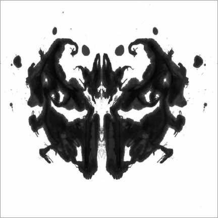 Wall sticker  Rorschach inkblot - Spencer Sutton