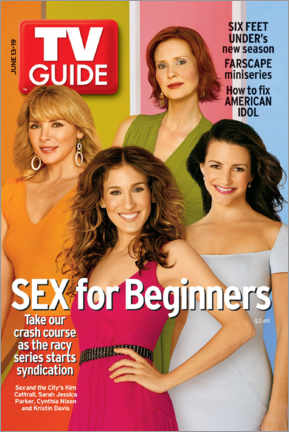 Wood print  Sex and the City - TV Guide Cover - TV Guide