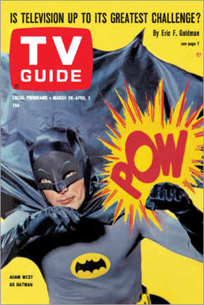 Premium poster Batman - TV Guide Cover 1966