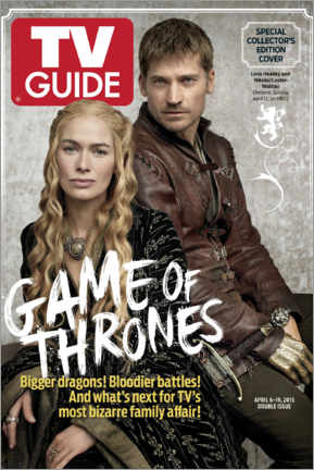 Foam board print  Game of Thrones - Bigger dragons - TV Guide