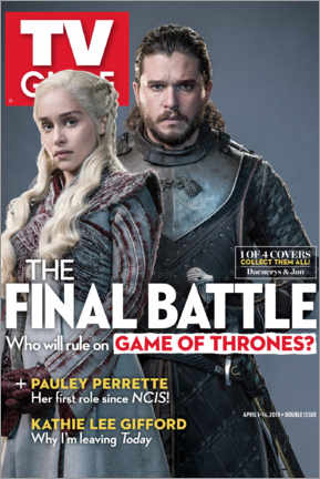 Premium poster  Game of Thrones - The final battle - TV Guide