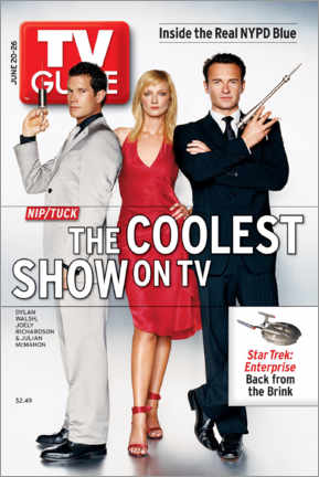 Wall sticker  Nip/Tuck - The coolest show on TV - TV Guide