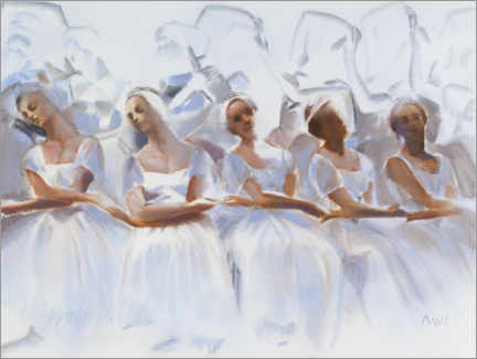 Wall sticker Study of the dancers