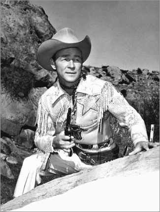 Premium poster  The Roy Rogers Show, Roy Rogers