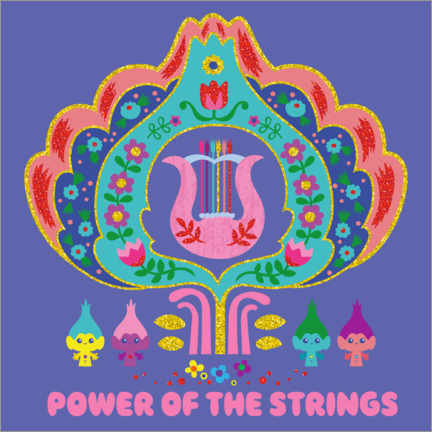 Premium poster  The power of strings