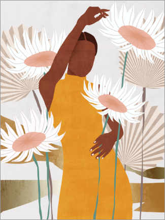 Premium poster  Sun Kissed Woman II - Melissa Wang