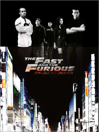 Acrylic print  The Fast and the Furious - Tokyo drift