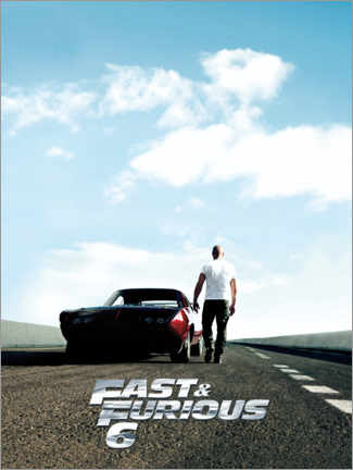 Canvas print  Fast & Furious 6 - Dominic Toretto