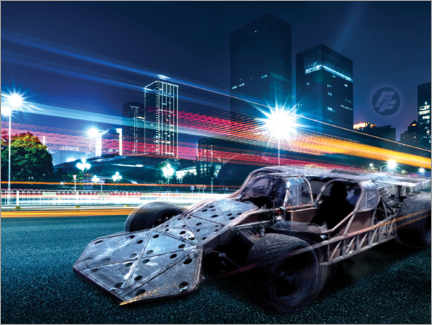 Wall sticker  The Fast and the Furious - City Lights