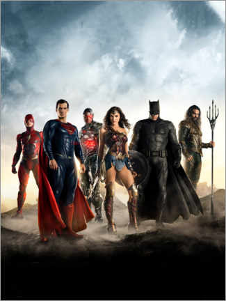 Premium poster  The Justice League